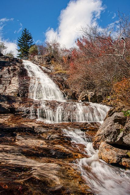 Graveyard Falls North Carolina...one of my favorite places on Earth