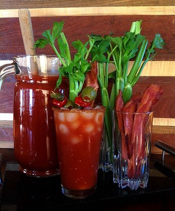 Yes plz! Need to make the receipe for the bacon infused Vodka. Bacon Bloody Mary Recipe