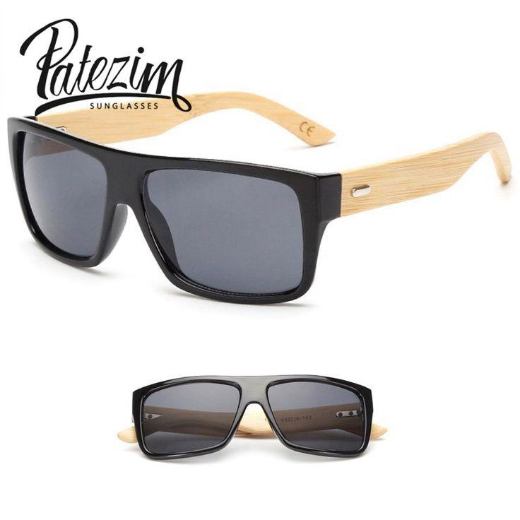 New classic gafas de sol de moda hecha a mano hacer estilo gafas hombres y mujeres modelos de explosión de bambú gafas de sol gafas de sol