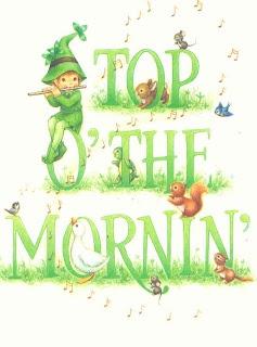 Irish Saying: Top O' The Mornin', Celebrate all things Irish with Irish jewelry, http://www.handcraftedcollectibles.com/irish_claddagh_rings.htm