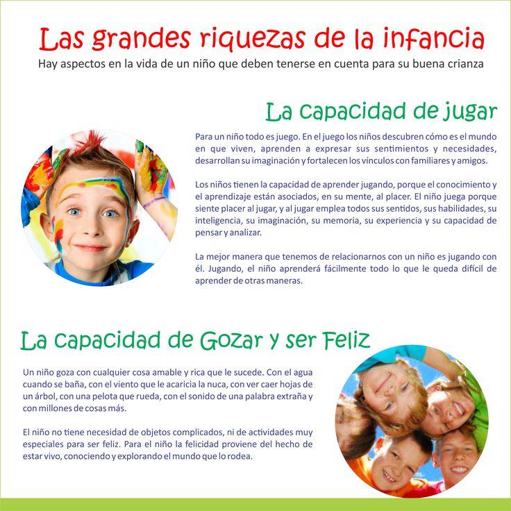 #Crecimiento y #Desarrollo  Grandes Riquezas de la Infancia