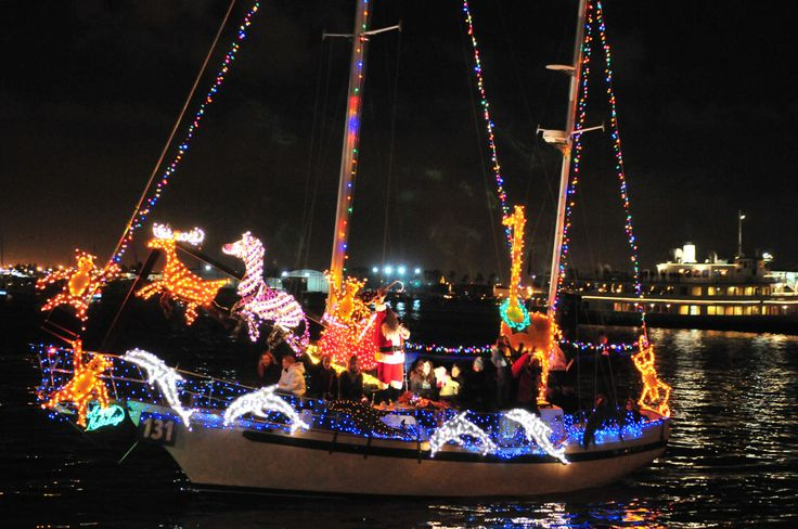San Diego Bay Parade Of Lights Pleasing 8 Best Christmas Boat Decor Sd Harbor 2013 Images On Pinterest Design Inspiration