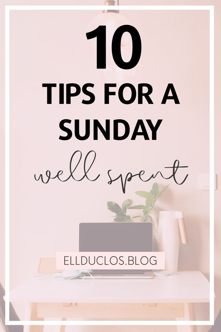 10 self care tips for a sunday well spent self care