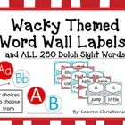 ***Revised: All 250 Dolch sight words now included! Along with editable blank sight word templates of each color scheme.  Blank templates will allo...