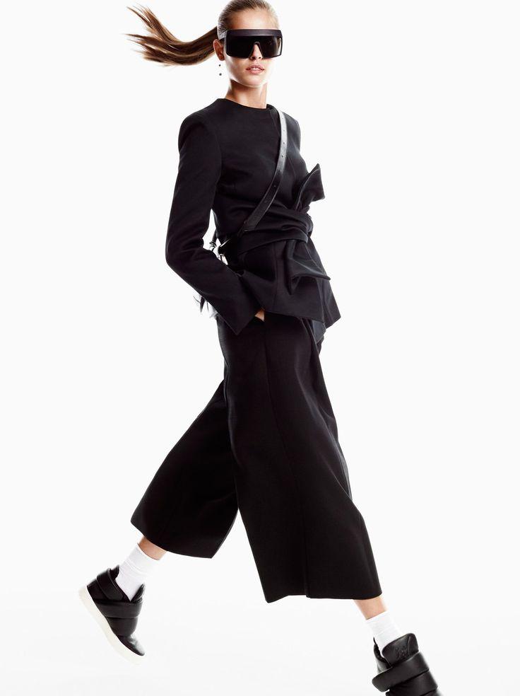 """Nadja Bender in """"New Age Traveller"""" by Victor Demarchelier for Vogue Japan, April 2015"""