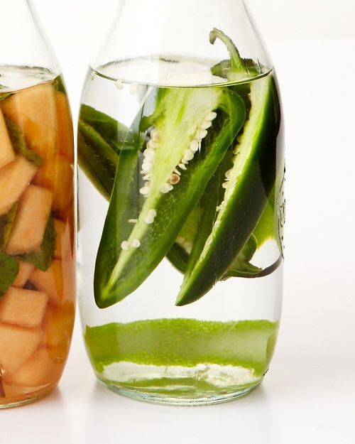 Chile-Lime Tequila - infusing your booze is an easy way to spice up summer cocktails