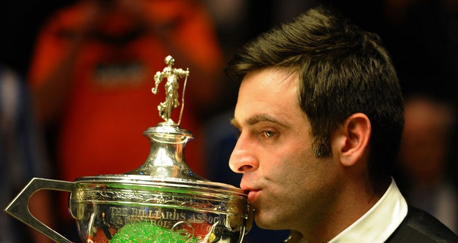 Ronnie O'Sullivan could return to action at the 2013 World Championship