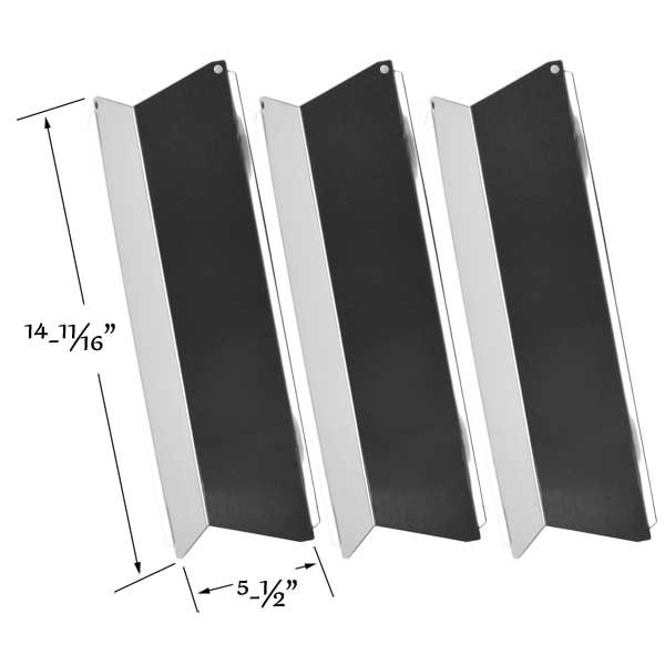 3 PACK STAINLESS STEEL HEAT SHIELD FOR HOME DEPOT FG50045-704, BLUE EMBER FG500057-103 GAS MODELS Fits Compatible Home Depot Models : FG50045-704, FG50057-706, FG50069-U401, FG50069-U409 Read More @http://www.grillpartszone.com/shopexd.asp?id=35722&sid=25193