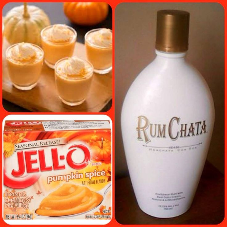 chrome hearts rings Rumchata Pumpkin Pie Pudding Shots  Ridder on   RadioNOW