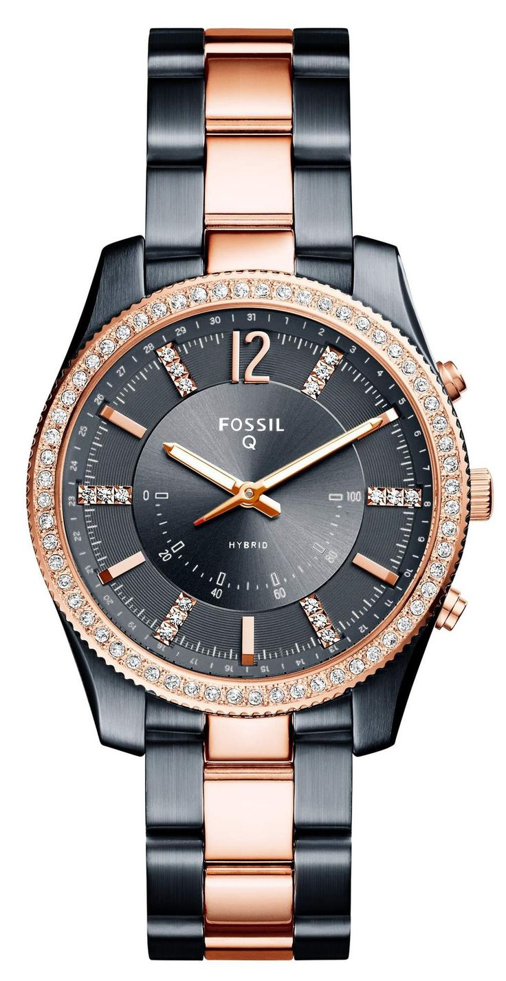 Blue and Rose Gold Watch