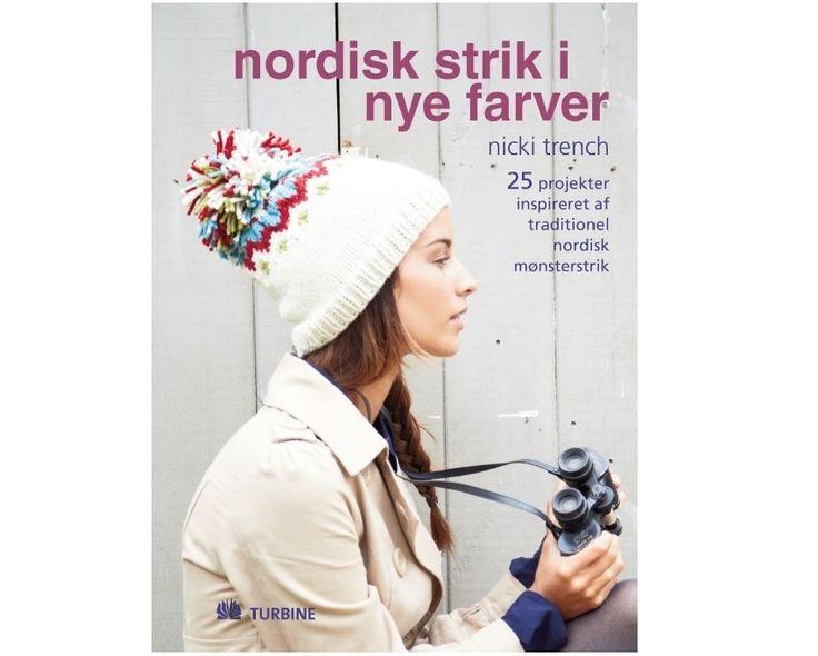 Nordisk strik i nye farver af Nicki Trench - Strikkepinden.com
