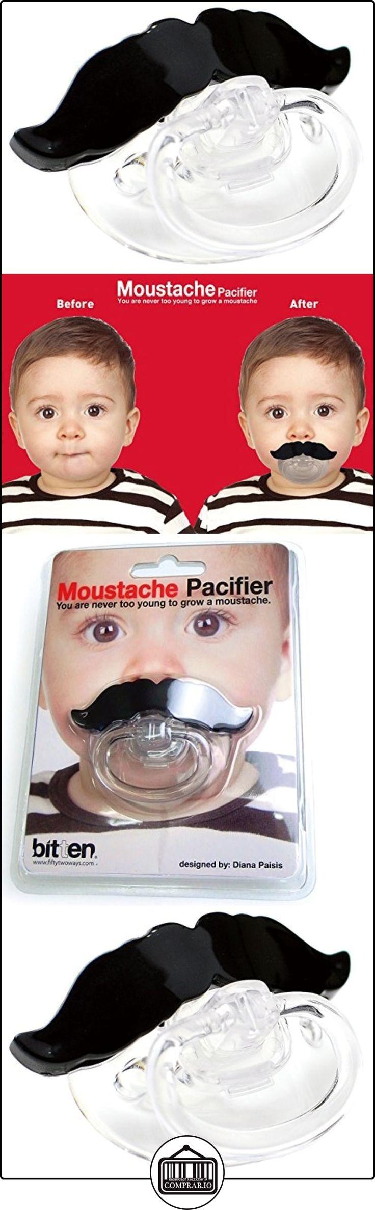 Chupete con bigote  ✿ Regalos para recién nacidos - Bebes ✿ ▬► Ver oferta: http://comprar.io/goto/B0091DHACS