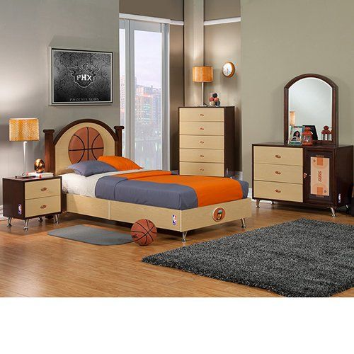 Bedroom In A Box Phoenix Suns And Nba Basketball On Pinterest