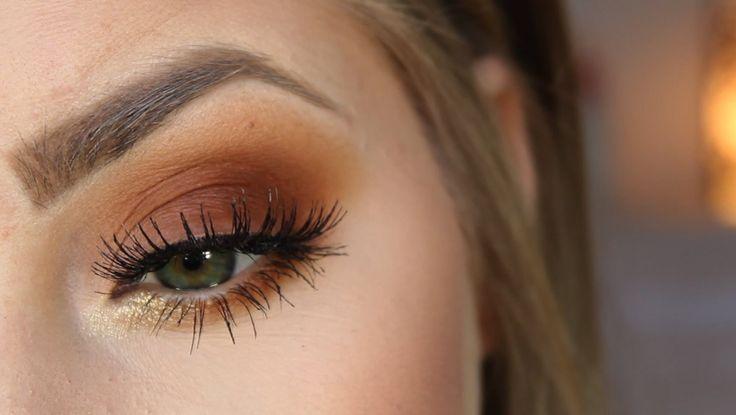 Burnt Orange Eyes   Coastal Scents Hot Pots - Pumpkin Pie -  Oatmeal Tan -  Oktoberfest -  Chamois Nude -  ColourPop Eyeshadow - Get Lucky (Gold Glitter)