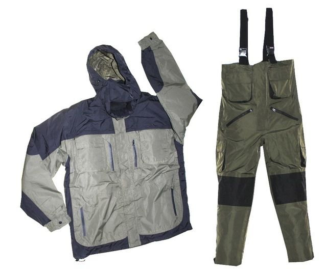 Top Offers $88.00, Buy Carp Suit Warm Waterproof Jacket and overall Trousers fishing tackle