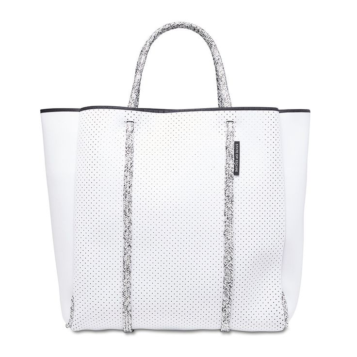 NEW: CITYSCAPE MARK II bag in white with blended rope from State of Escape