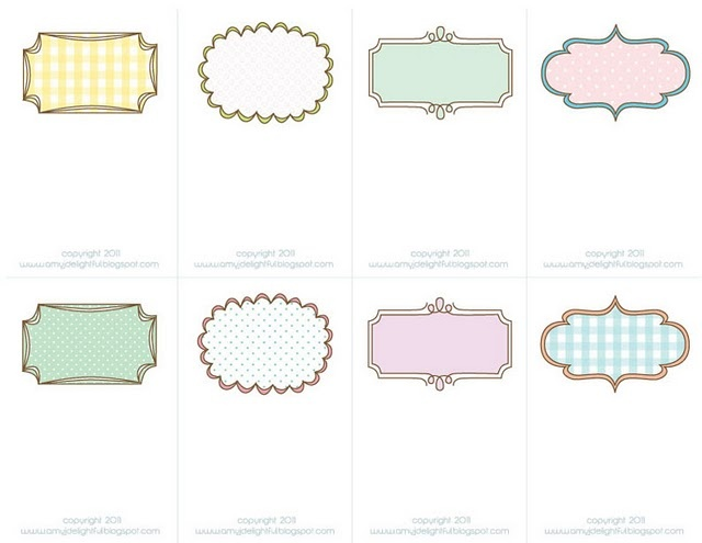 Free Printable Place Cards