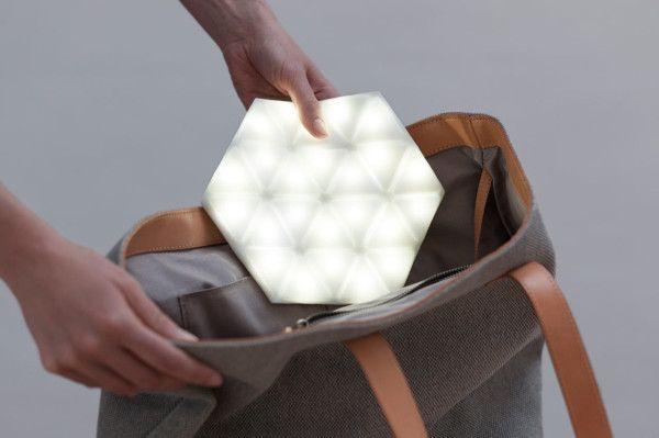 Kangaroo: A Portable Light That's Also Flexible by Studio Banana