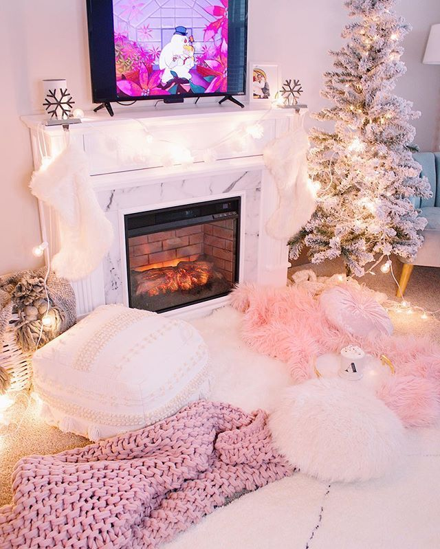 Our little winter wonderland... Its been so special to make our home all  cozy for Christmas time. Lets fill every in… | Cozy decor, Christmas time,  Girly apartments