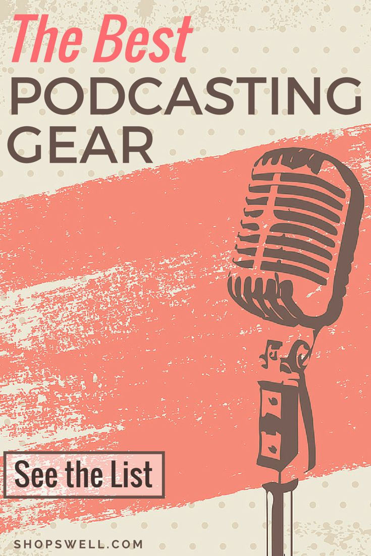 Do you podcast? Have you been wanting to start? Here's a great list of gear you'll need to finally get you ready to hit the record button. What are you waiting for?