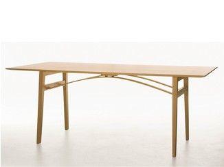 Table pliante en bois massif BRYGGA | Table pliante - Karl Andersson & Söner