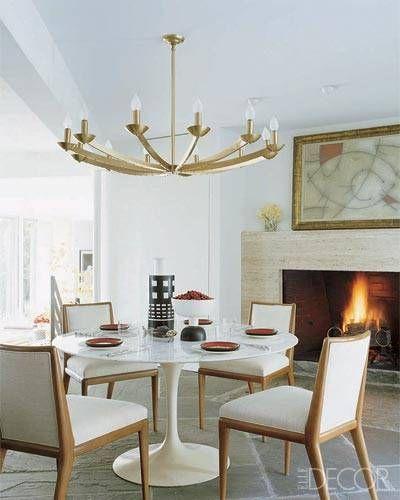 Bruce Glickman And Wilson Henley Vintage Robsjohn Gibbings Chairs Saarinen Table Jean