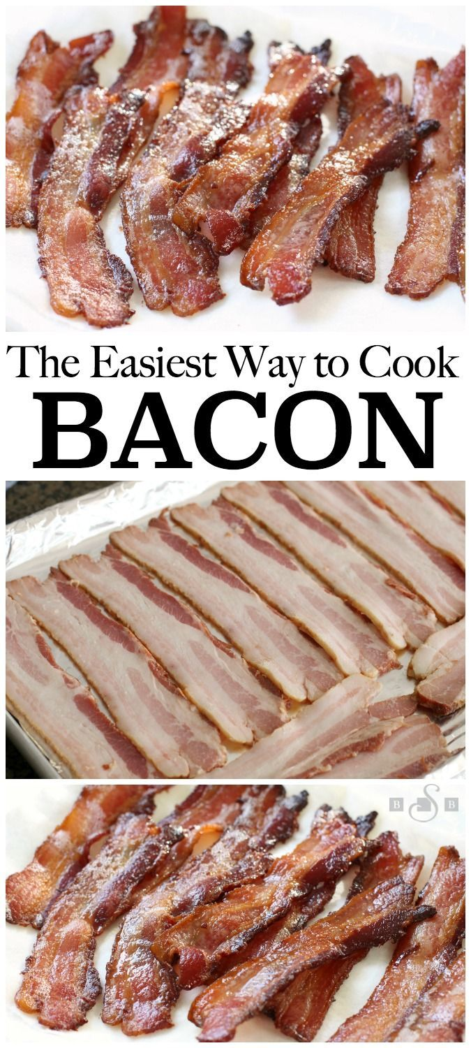 how to cook bacon easy