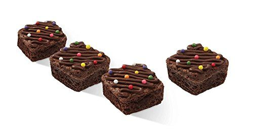 Brownie Silicone Bite Size Mold 24 Cavity Square 1 5x1 5x 75
