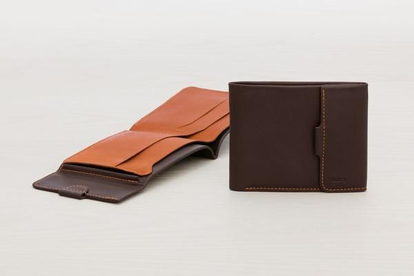 Picture of Bellroy Coin Fold wallet in java