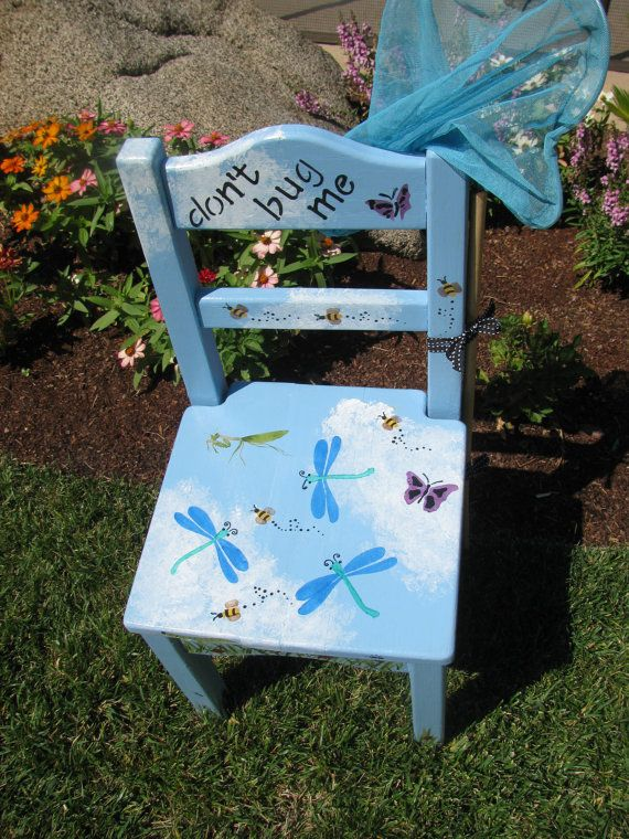 Child/Toddler Chair by bubee on Etsy, $60.00
