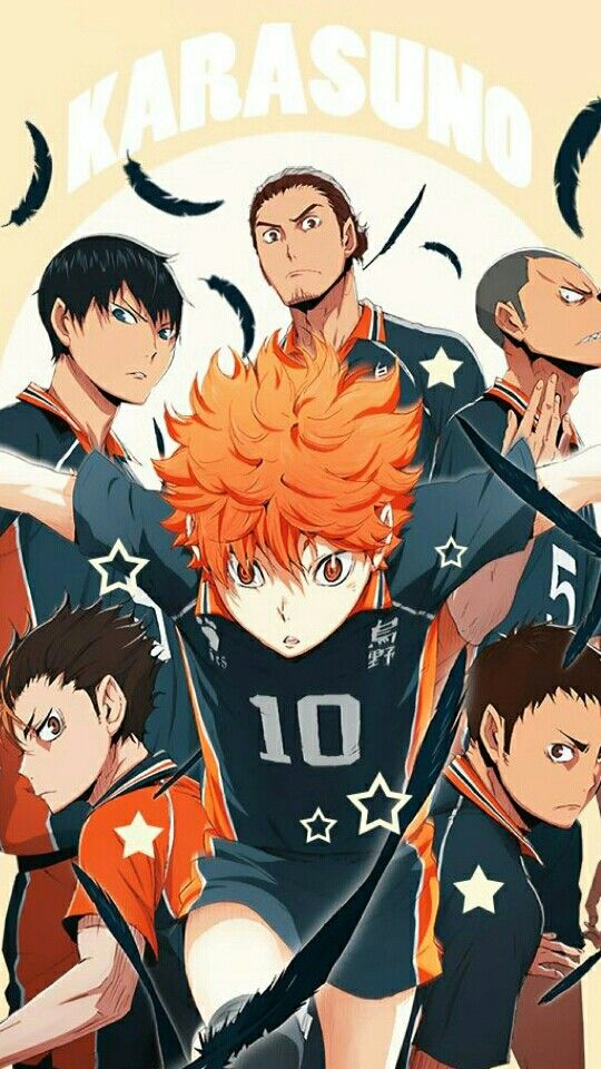 Karasuno Haikyuu Haikyuu Wallpaper Haikyuu Anime Cute Anime Wallpaper