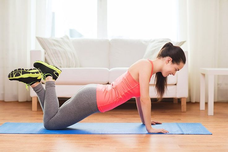 push ups fitness oefening thuis