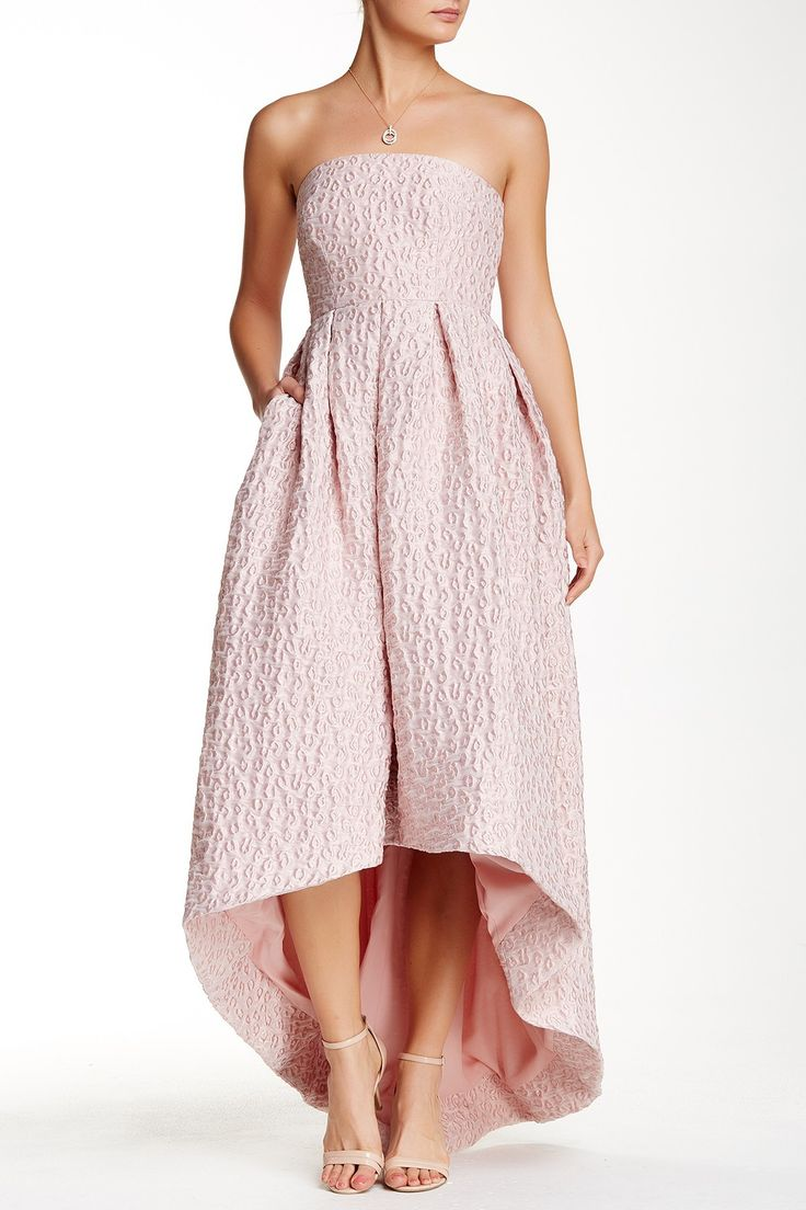 Perfect for a summer wedding!  Dusty Rose Cynthia Rowley Hi-Lo Dress