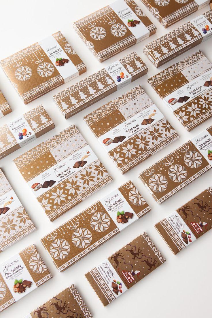 New Year's Gorenjka Special Chocolate Collection; Agencija 101, Ana Logar