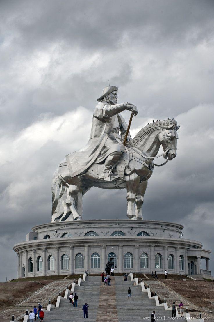 Genghis Khan equestrian statue, Mongolia