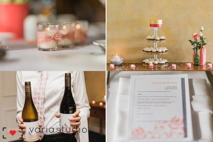 Early Spring Wedding | Inn on the Twenty | inn on the twenty wedding reception details