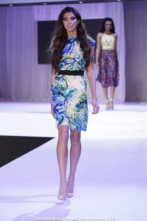Anna Hulm showed promise with her mix of wearable shapes, feminine motifs and printed silks