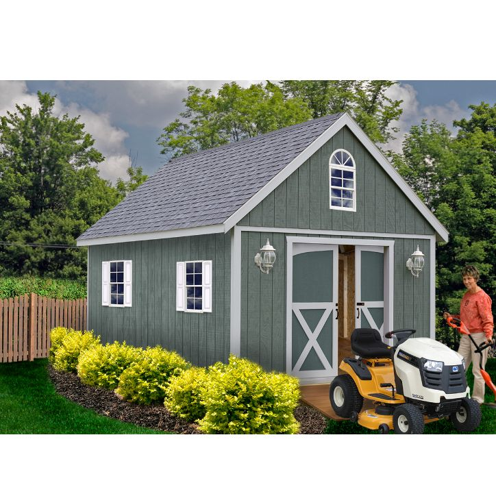 Best 25 wood shed kits ideas on pinterest build a shed for Shed guest house kit
