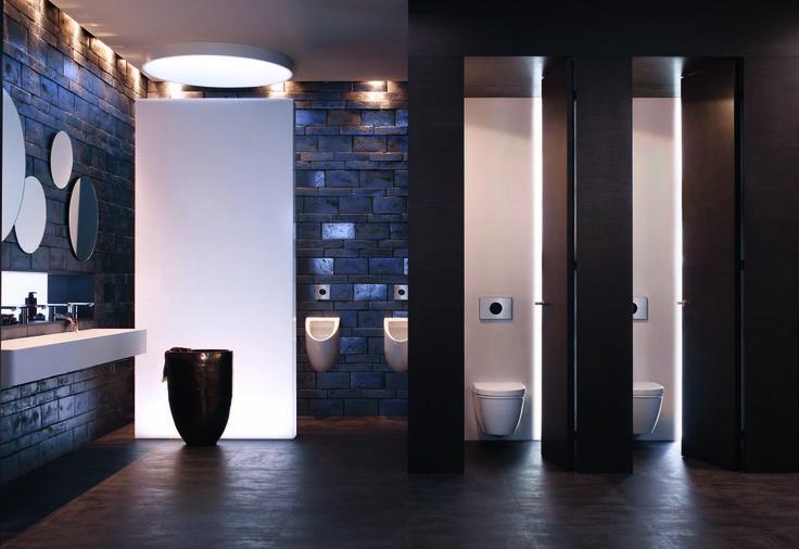 Diseno De Un Baño Publico: de contacto para inodoros y urinarios que consiguen un baño mejo