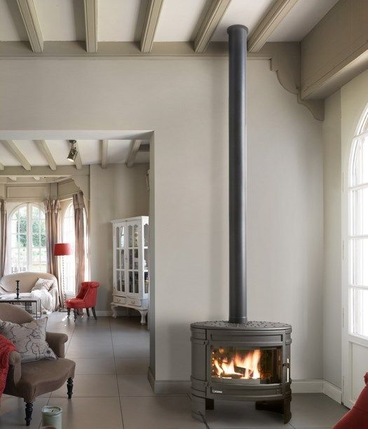 M s de 1000 ideas sobre calefactores a le a en pinterest - Estufa cocina lena ...