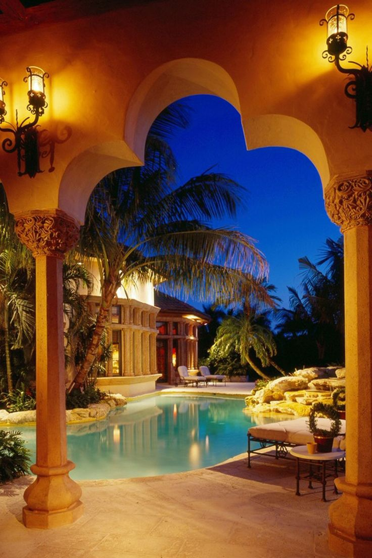 Luxury Backyard Pool Designs : luxury backyard pool design Amazing Backyard Pool Designs to Relax