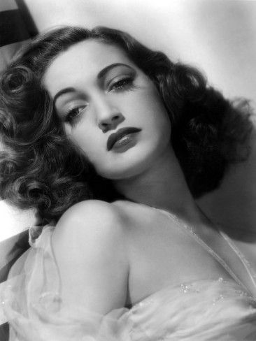 Dorothy Lamour. Now this was one actor who's legend will live on forever. She is a timeless beauty and had an amazing voice to match. Love this actor!