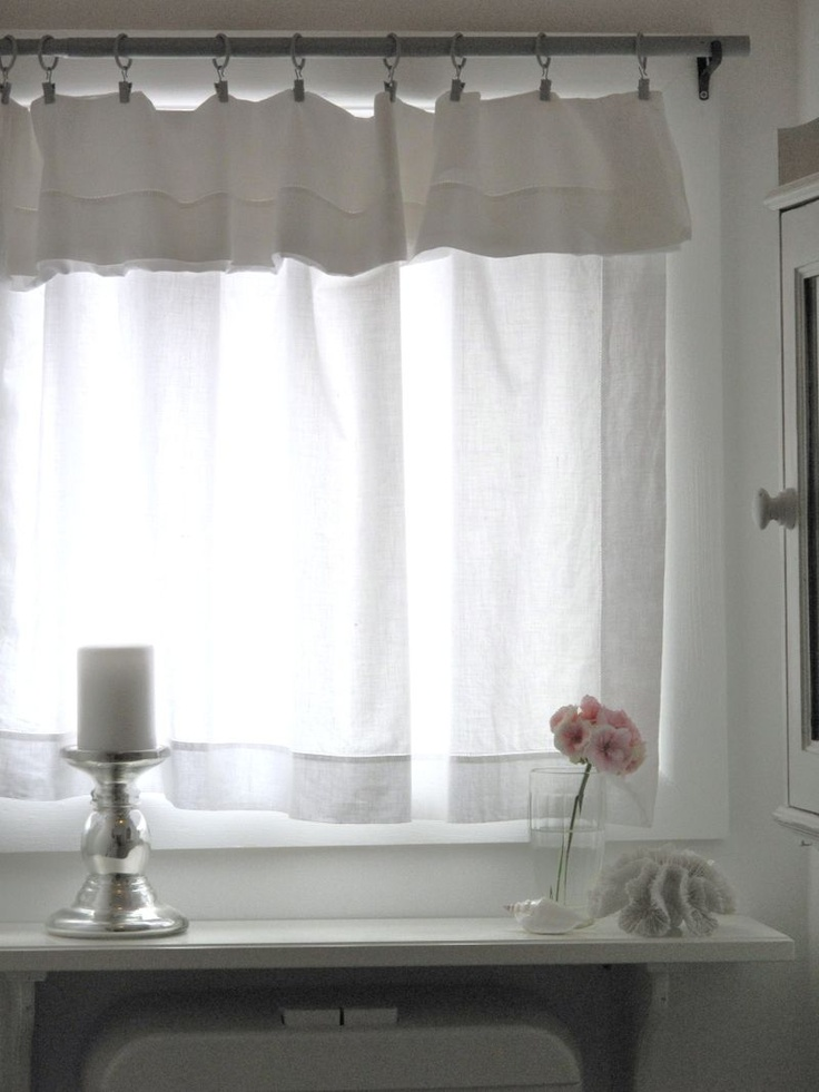 Great Good Idea For The Bathroomu0027 Curtain