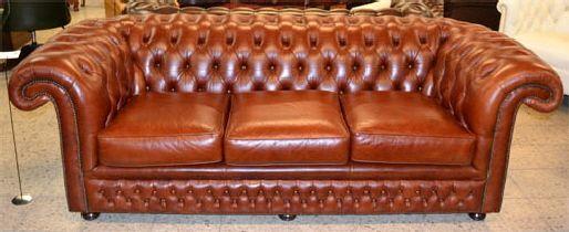 Das Eden De Luxe Chesterfield, das ideale Relaxsofa.