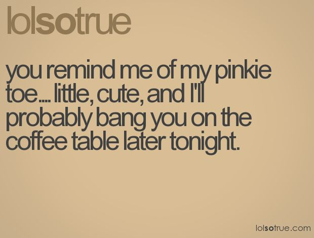 pick up lines, I love this one!