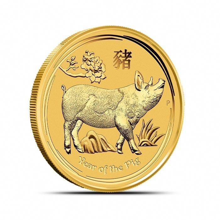 2019 P Perth Australia 1 2 Oz 200 Gold Lunar Year Of The Dog Coin Bu In Cap Goldcoins Gold Investing Gold Coins Gold Bullion Bars Coins