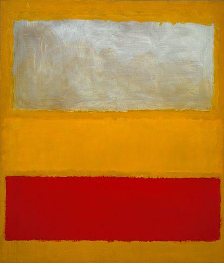 No. 13 (White, Red, on Yellow), 1958  Mark Rothko (American, born Russia, 1903–1970)