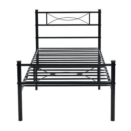 Home Metal Platform Bed Steel Bed Frame Platform Bed Frame
