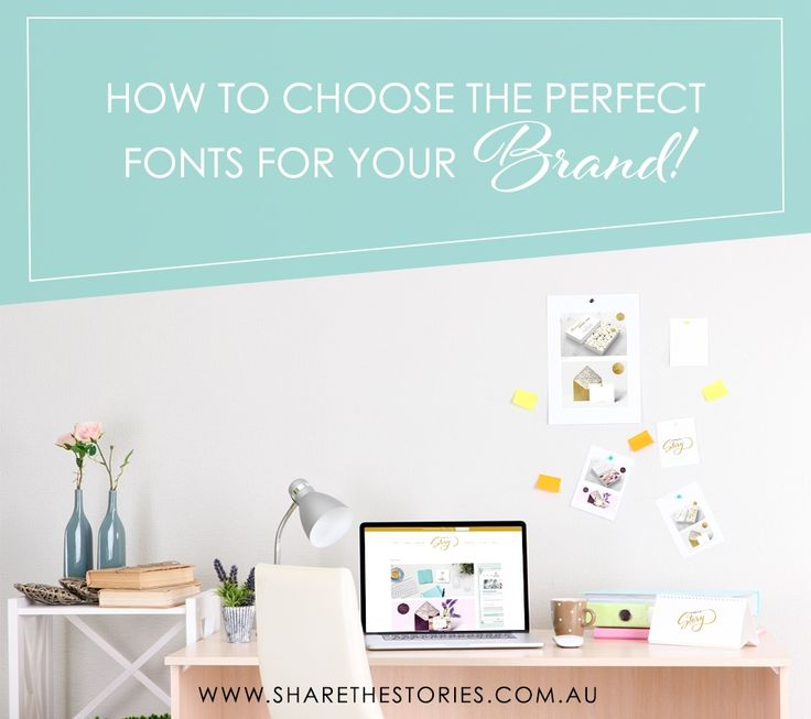 Choosing the perfect fonts for your brand ensure your potential clients understand your business and you will be giving them the first impression.