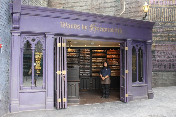 Wands by Gregorovitch - Diagon Alley - Universal Studios